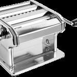 machine à pate manuelle argenté
